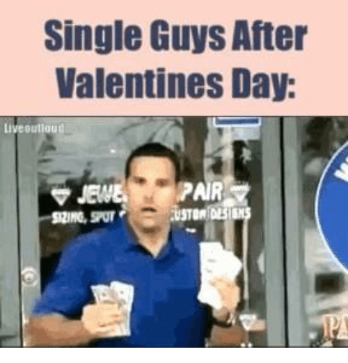 Funny, Valentine's Day, and Singles: Single Guys After  Valentines Day:  liveBulloud
