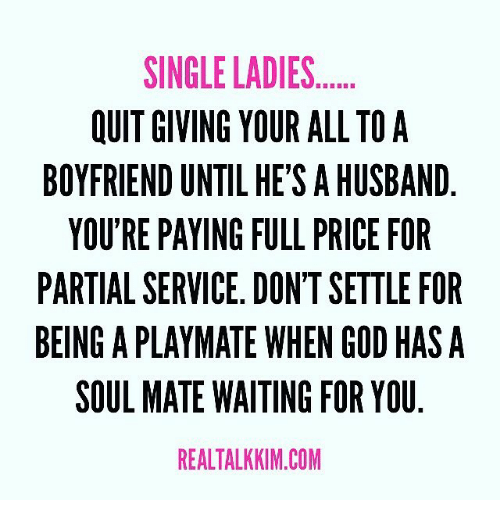 giving up dating for god