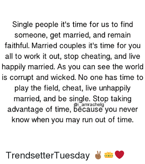 married couples cheating