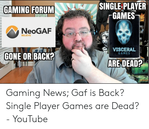 Neogaf dating 5 år
