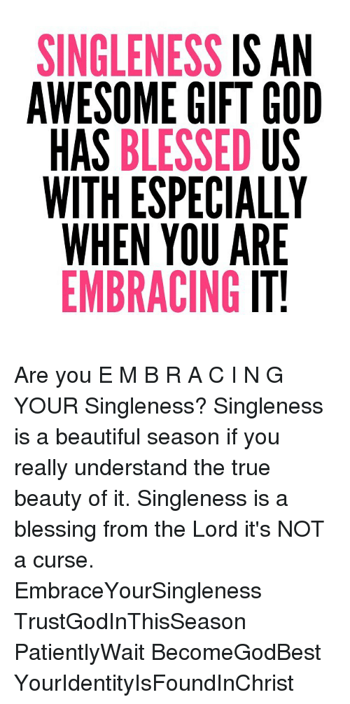 what god says about singleness