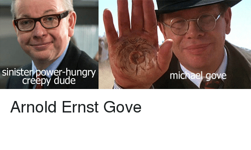 sinister power hungry creepy dude michael gove arnold ernst gove 2658723 ✅ 25 best memes about michael phelps meme michael phelps memes