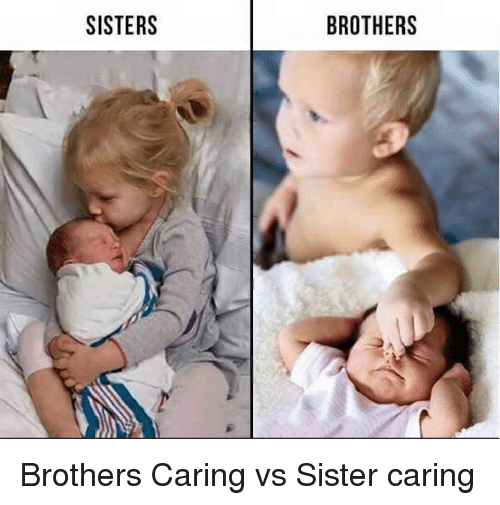 SISTERS BROTHERS Brothers Caring vs Sister Caring | Funny