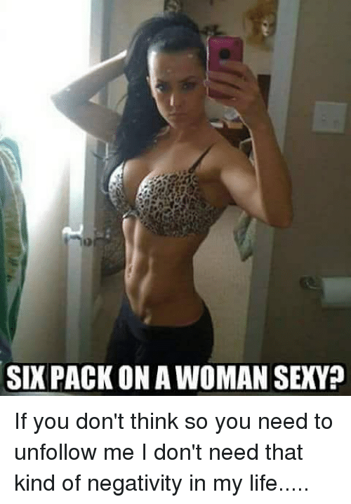 Sexy girl six pack
