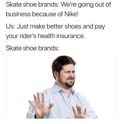 Skate Shoe Brands We Re Going Out Of Business Because Of Nike Us