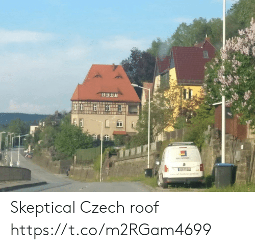 Faces-In-Things, Czech, and Skeptical: Skeptical Czech roof https://t.co/m2RGam4699