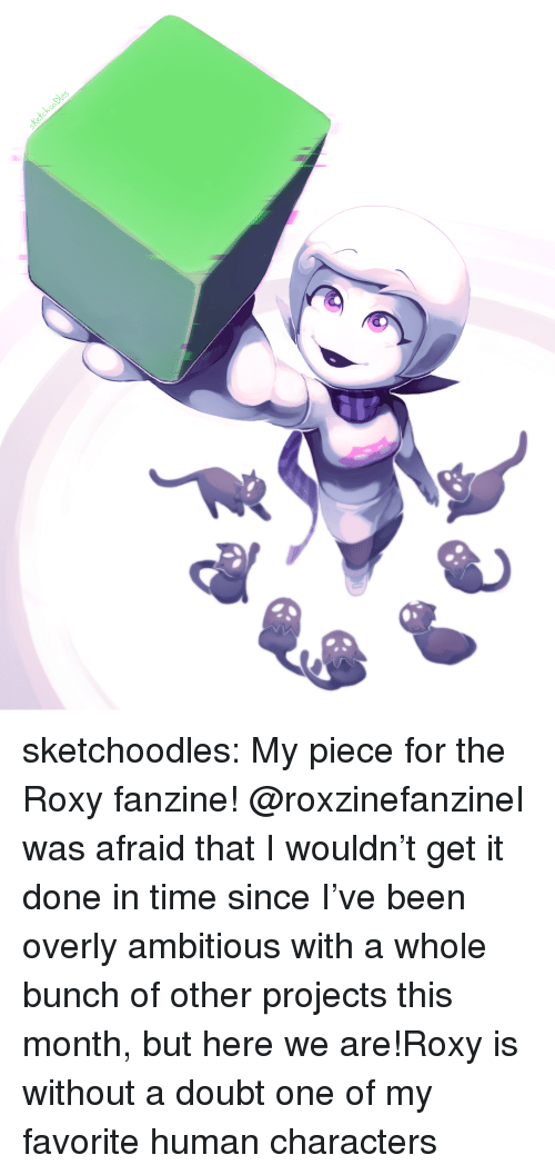 Target, Tumblr, and Blog: sketchoodles:  My piece for the Roxy fanzine! @roxzinefanzineI was afraid that I wouldn't get it done in time since I've been overly ambitious with a whole bunch of other projects this month, but here we are!Roxy is without a doubt one of my favorite human characters