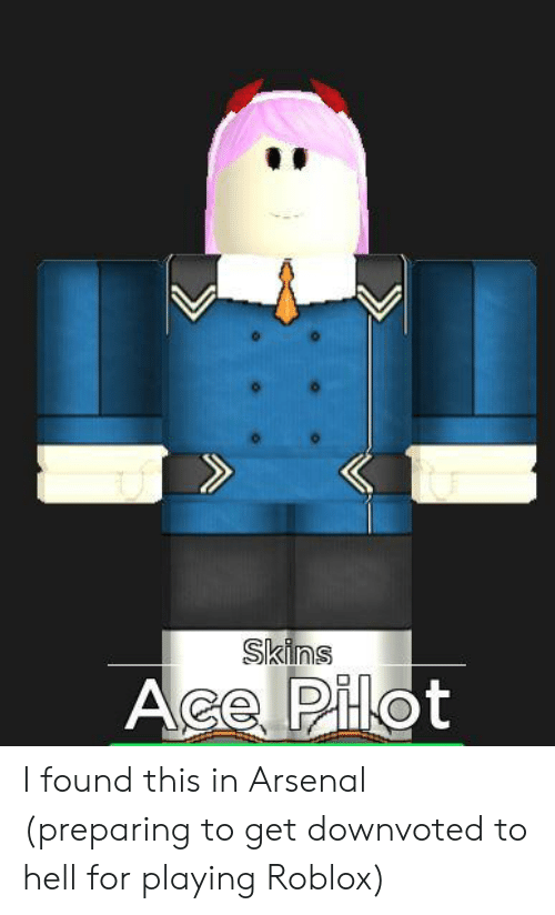 Skins I Found This In Arsenal Preparing To Get Downvoted To - how to make roblox skins
