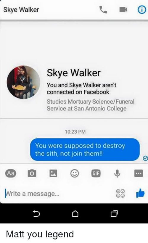 You Were Supposed To Destroy The Sith Not Join Them
