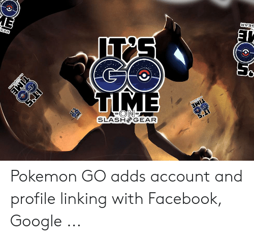 SLASHO GEAR Pokemon GO Adds Account and Profile Linking With