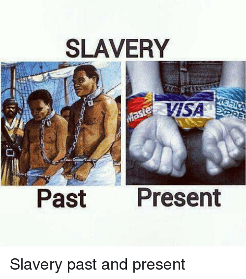 a report on slavery in the past and today