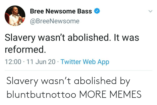 Dank, Memes, and Target: Slavery wasn't abolished by bluntbutnottoo MORE MEMES
