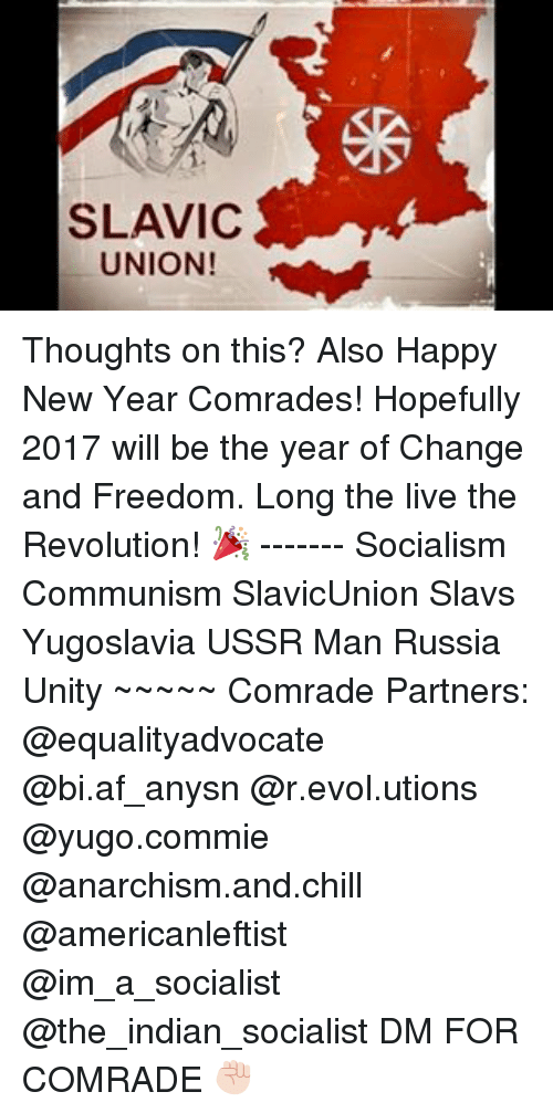 SLAVIC UNION! Thoughts on This? Also Happy New Year Comrades ...