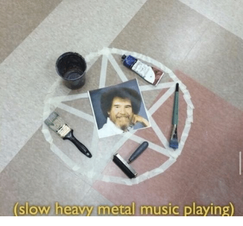 Music, Metal, and Heavy Metal: (slow heavy metal mus  slow heavy metal music playing