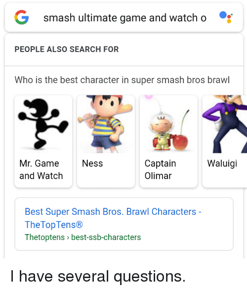 Smash Ultimate Game and Watcho PEOPLE ALSO SEARCH FOR Who Is