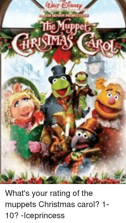 Sne Whats Your Rating Of The Muppets Christmas Carol 1 10