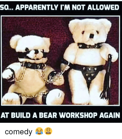 No Longer Allowed At Build A Bear