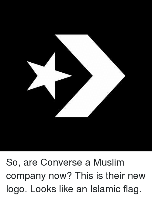 So Are Converse a Muslim pany Now This Is Their New Logo Looks