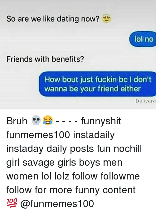 Dating your friend with benefits