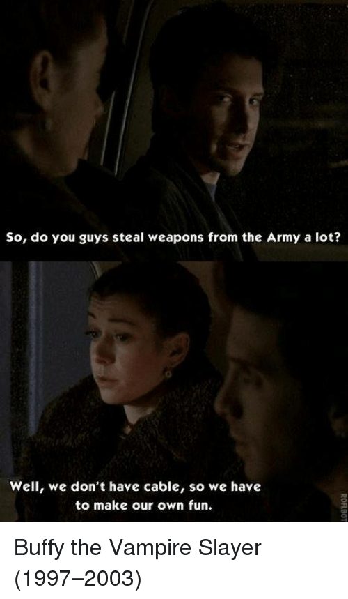 So Do You Guys Steal Weapons From The Army A Lot Well We Dont Have
