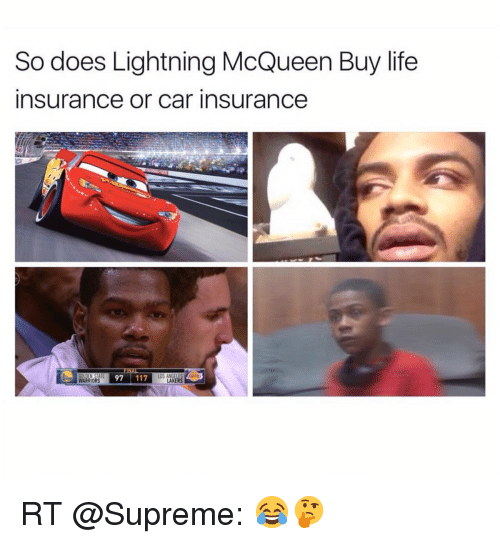 Does Lightning Mcqueen Get Car Insureance Or Life Insurance