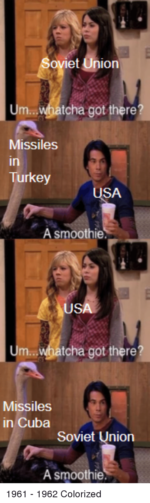 So Et Union Um Whatcha Got There? Missiles in Turkey SA a