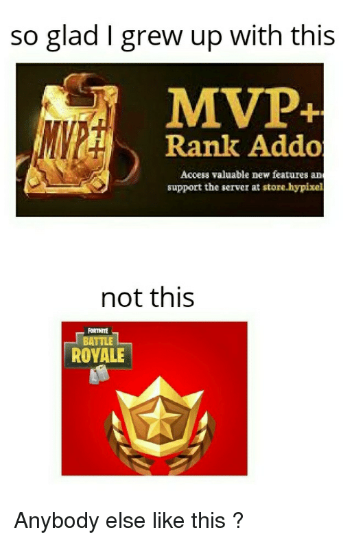 So Glad I Grew Up With This MVP Rank Addo Access Valuable