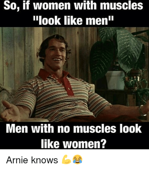 Women like muscles