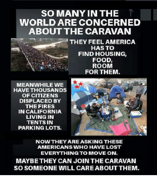 So Many In The World Are Concerned About The Caravan They Feel