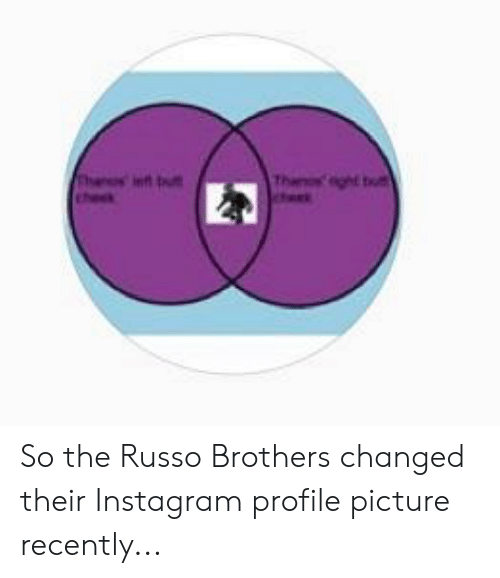 So the Russo Brothers Changed Their Instagram Profile Picture