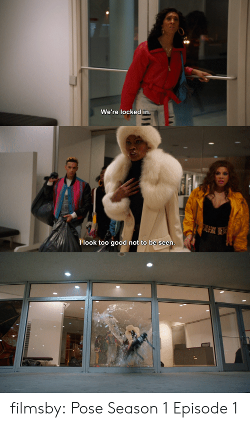 Target, Tumblr, and Blog: SO  We re locked in   llook too good not to be seen filmsby:  Pose Season 1 Episode 1