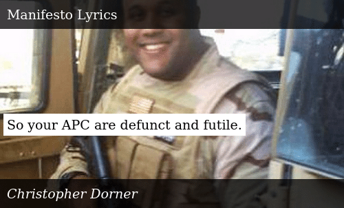 https://me me/i/manifesto-christopher-dorner-anjelah-johnson-lyrics