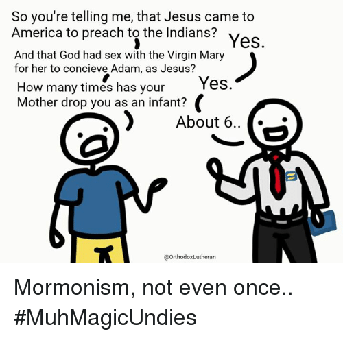 Mary has sex with god