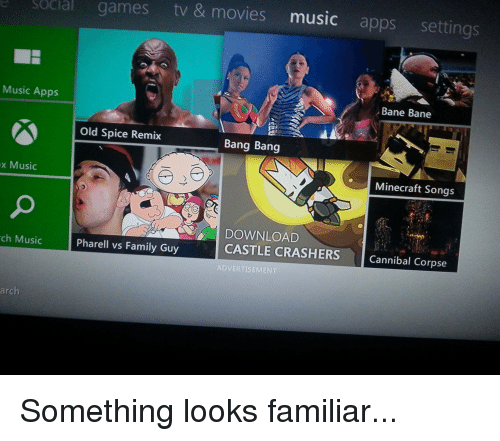 Social Games Tv & Movies Music Apps Settings Music Apps Bane