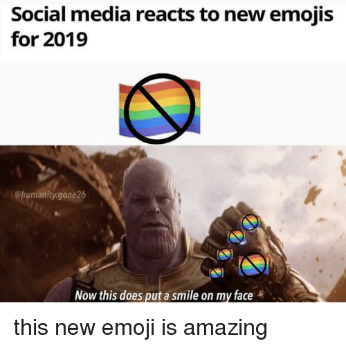 Social Media Reacts To New Emojis For 2019 Now This Does Put A