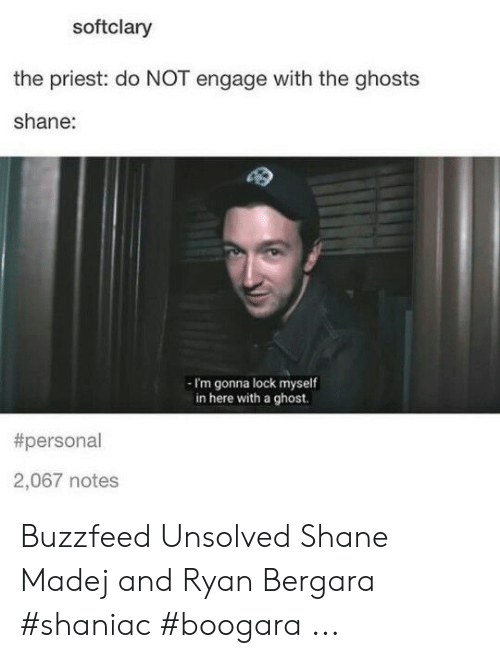 Softclary The Priest Do Not Engage With The Ghosts Shane I M Gonna