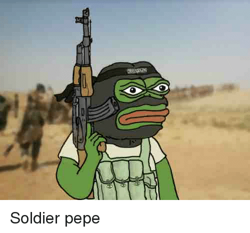 Pepe The Frog Soldiers And Soldier