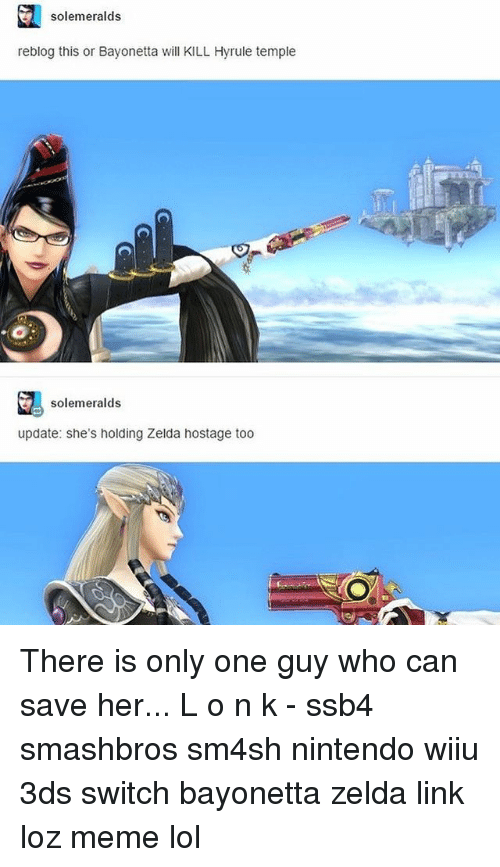 solemeralds reblog this or bayonetta will kill hyrule temple solemeralds 26989759 ✅ 25 best memes about bayonetta bayonetta memes