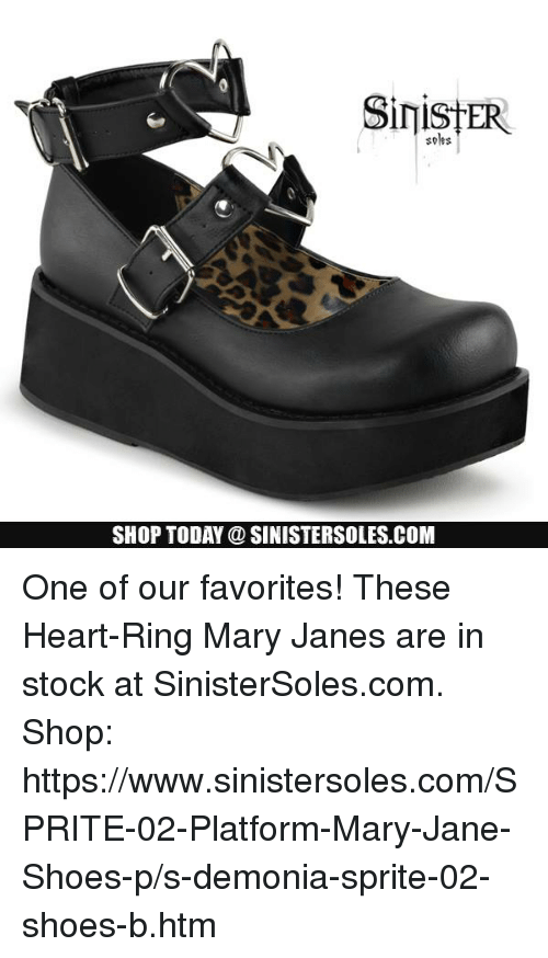 d960a3a1fde Soles SHOP TODAY SINISTERSOLESCOM One of Our Favorites! These Heart ...