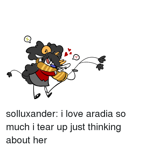 Love, Target, and Tumblr: solluxander:  i love aradia so much i tear up just thinking about her