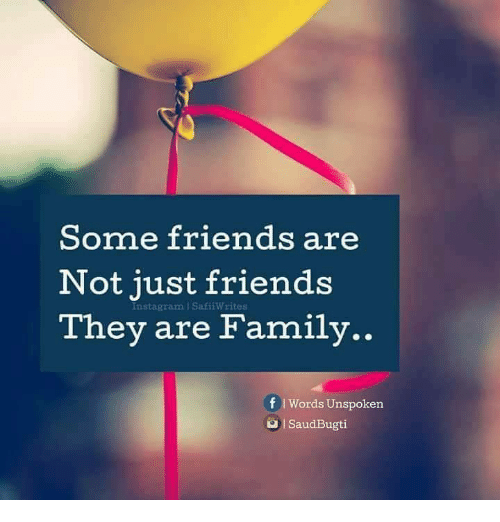 Some friends are not just friends they are family instagram family friends and instagram some friends are not just friends they are family publicscrutiny Choice Image