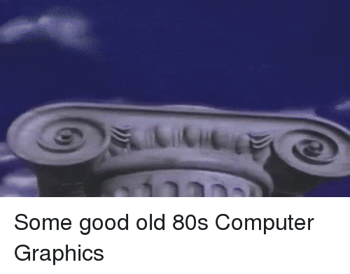 Some Good Old 80s Computer Graphics | Computer Meme on ME ME