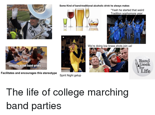 Stereotypes marching band OSU band's