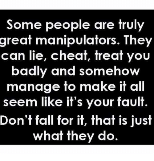 Can manipulators fall in love