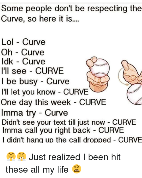 Curve game meme dating the same guy