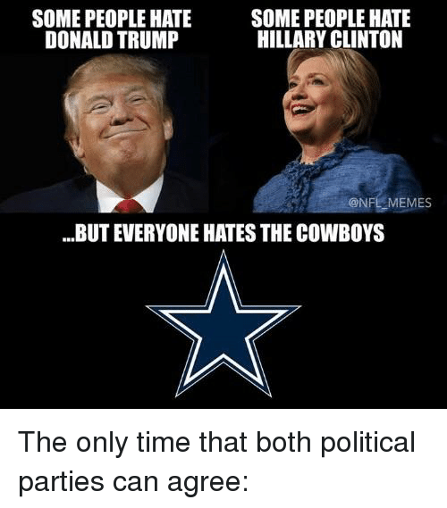 I Hate The Dallas Cowboys Memes