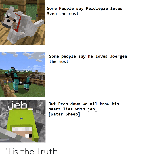 Some People Say Pewdiepie Loves Sven the Most Some People