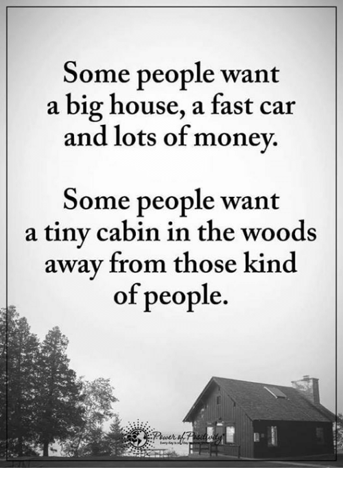 Cars Money And House Some People Want A Fast