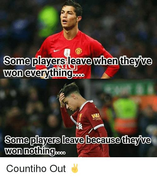 Memes, 🤖, and Nothing: Some  won  players leave when theyve  evervthing  Some players leave because theyve  won nothing..  o. Countiho Out ✌