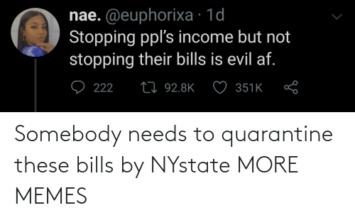 Dank, Memes, and Target: Somebody needs to quarantine these bills by NYstate MORE MEMES
